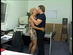 Anal, Office, German, Fuck woman by strabon in office, Xhamster.com