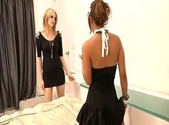 Blonde, Lesbian, Maid, Maid and two boys, Tube8.com