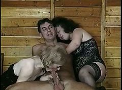 Hairy, Threesome, Hairy mature amteur, Xhamster.com