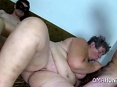 Lesbian granny masturbating together, Gotporn.com