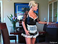 Maid, Maid seduce boy, Tube8.com