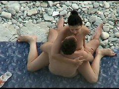 Couple, Beach, Caught, Japanese caught black, Xhamster.com