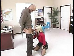 Blonde, Glasses, Teen, Teen seduced by milf, Tube8.com