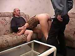 Teen, Old Man, Threesome, A dirty old man girl, Tube8.com