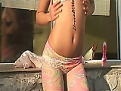 Teen, Cute, Strip, Cute pigtail, Tube8.com