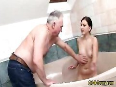 Teen, Old Man, Girls and old man, Gotporn.com