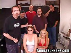 Bukkake, Orgy, Young girls and coed seduce anal orgy, Gotporn.com
