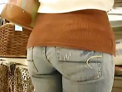 Jeans, Ass, Pretty teen in jeans anal, Xhamster.com