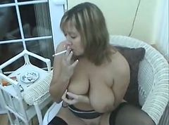 Smoking, Milf, Smoking mastubating, Xhamster.com