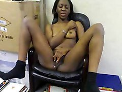 African, Office, Pantyhose office lesbian, Xhamster.com