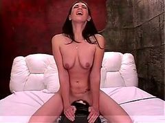 Riding, Ass, Dildo, Teen gets facial after blowing and cock riding, Xhamster.com