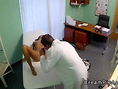 Doctor, Creampie, Fake doctorgang abusing patient, Fapli.com