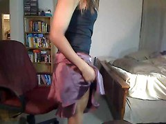Ebony, Crossdresser, Dress, Hot dress, Xhamster.com