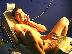 Sybian, Riding sybian and sucking, Xhamster.com