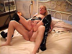 Blonde, Boots, Gangbang, Boots, Xhamster.com