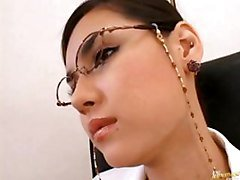 Asian, Office, Heels, Amazing nurse gets fucked in office, Gotporn.com