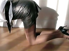 Leather, Stockings, Stockings hairy groupsex, Xhamster.com