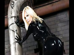 Black, Latex, Tube8.com