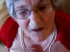 Granny masturbation dirty talk, Tube8.com