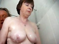 Granny masturbate stockings, Tube8.com