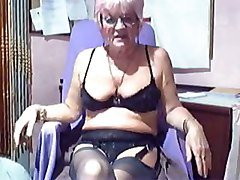 Amateur, Hairy grannies masturbating, Tube8.com