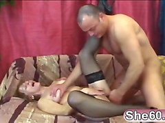 Wet, Stockings, Granny and girl, Gotporn.com