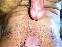 Spitting hubands cum in his mouth, Nuvid.com