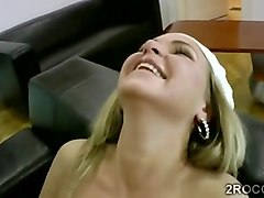 Amateur, Blonde, Dildo, Amateur couple dp dildo, Fapli.com