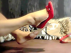 Fetish, Ts foot fetish, Voyeurhit.com
