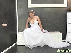 Bukkake, Wedding, Tranny bride, Txxx.com