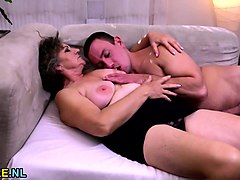 Hairy, Teen and hairy granny making lesbian love, Nuvid.com