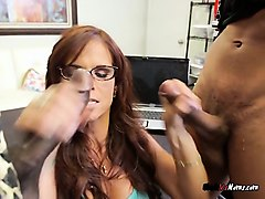 Black, Wife gets fucked by bbc, Nuvid.com