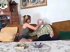 Old Man, Young girl try anal with old man, Txxx.com