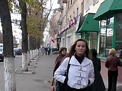 Peeing on the street, Txxx.com
