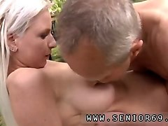 Blonde, Old women saggy tits fucking, Gotporn.com
