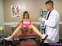 Anal, Doctor, Gyno, Women spread on a gyno table, Gotporn.com