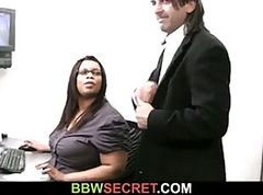 Black, Cheating, Secretary, Cheating wife blowjob and swallow her boss, Xhamster.com