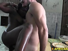 Black, Caroll fucked by white and black cock, Nuvid.com