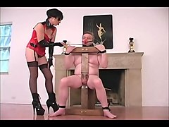 Femdom, Russian, Torture pussy with needle and thread, Txxx.com