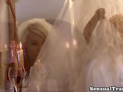Bride, Shemale, Wedding, Texas girl sucking dick, Txxx.com