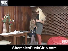 Shemale, Shemale and teen girl, Sunporno.com