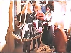 Maid, Dress, Asian hotel maid watched me wank, Txxx.com