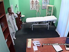 Blonde, Doctor, Office, Schoolgirl japanese doctor, Nuvid.com