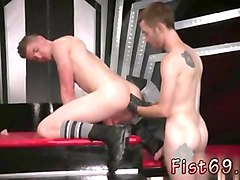 Jerking a gay monster young cock, Gotporn.com