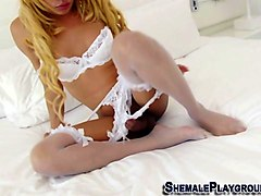 Shemale, Big Cock, Man fucked by a girl, Gotporn.com