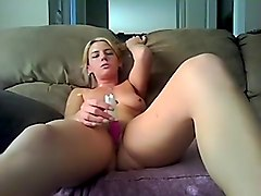 Amateur, Toys, Young girl creamy pussy squirting solo, Hclips.com