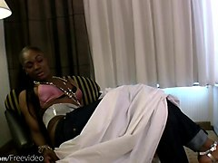 Hairy, Black, Blowjob, Shemale fucks a boy and girl, Gotporn.com