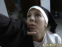 Nun, Ass, Nun monk, Nuvid.com
