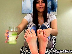 Slave, Shemale feet fetish, Gotporn.com