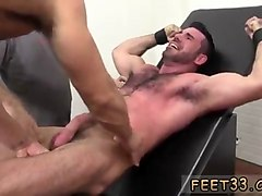 Hairy, Tied, Gay hairy police, Gotporn.com